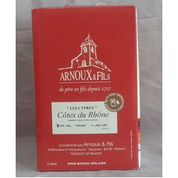 Côtes du Rhone Arnoux bib 5l