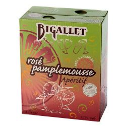 Rosé Pamplemousse BIB 3L Bigallet