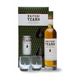 Whiskey Writers Tears Glasspack +2 Verres 40