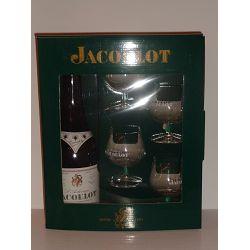 Coffret Authentique Jacoulot 70CL 45 + 4 Verres