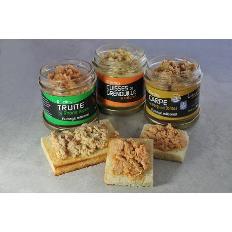 Rillettes de carpes