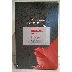 Merlot Vign du Pic BIB 10L
