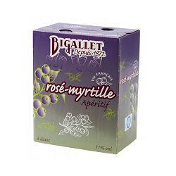 Rosé Myrtille BIB 3L Bigallet