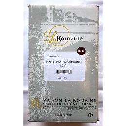 Vin de Pays Méditerranée BIB 10L rouge  La Romaine